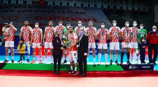 Ziraat Bankkart CEV Challenge Kupası İkincisi