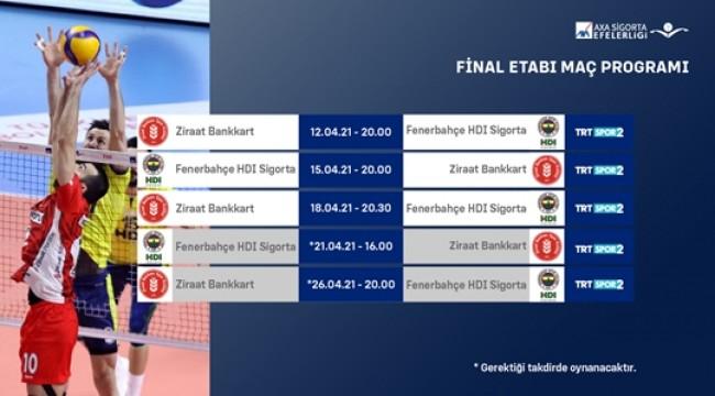 Efeler Ligi Play-off Final Etabı Başlıyor