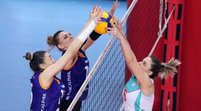 Kadınlar 1. Ligi'nde Yarı Final Etabı Başladı