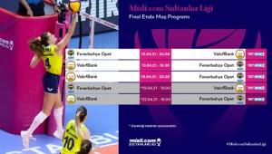 Sultanlar Ligi Play-off Final Serisi Başlıyor