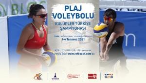 Plaj Voleybolu Kulüpler Türkiye Şampiyonası Duyurusu
