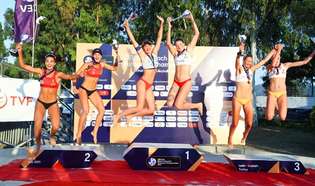 U20 Plaj Voleybolu Avrupa Şampiyonası Sona Erdi